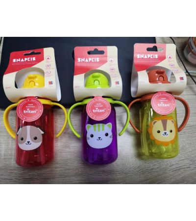 SNAPKIS MY FIRST STRAW WATER BOTTLE 350ML