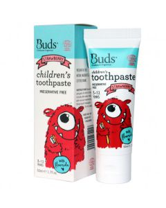Buds Children's Toothpaste with Fluoride (3-12 Years)