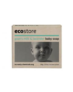Ecostore Baby Soap - Goat's Milk & Lavender (80g)
