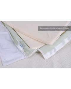 Comfy baby Adjustable Memory Foam Pillow Cover (26x40x6.5cm )