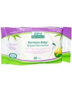 Aleva Naturals Bamboo Baby Wipes 30pcs