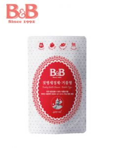 B&B Feeding Bottle Cleanser Bubble Type Refill 400ml