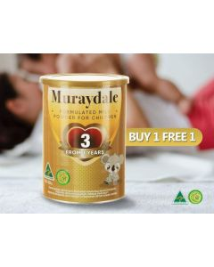 [Limited Time Offer Buy 1 Free 1] Muraydale Toddler Formula Step 3 (900G)