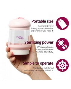 Mathos Loreley Portable Baby Bottle & Nipple Sterilizer