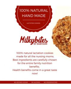 MilkyBites Oatmeal ginger cookies (250g)