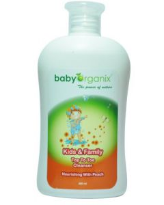 Baby Organix Kids & Family Top to Toe 400ml