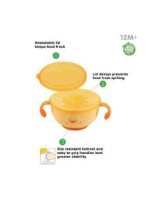 PiyoPiyo SNACK-TRAP FOOD CONTAINER (630118) 280ml / 9oz
