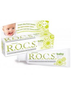 ROCS Baby (Camomile) Toothpaste 35ml