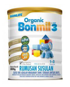 Bonlife Organic Bonmil 1+ (Step 3) 800G