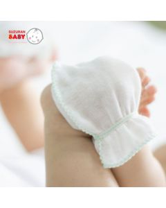Suzuran Baby Gauze Glove 2 pairs